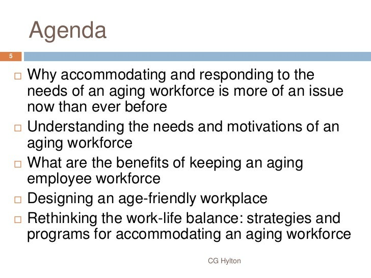 """the aging workforce The """"baby boomer generation"""" is coming into retirement age, and while that  brings much excitement for those individuals, it presents many challenges to their ."""