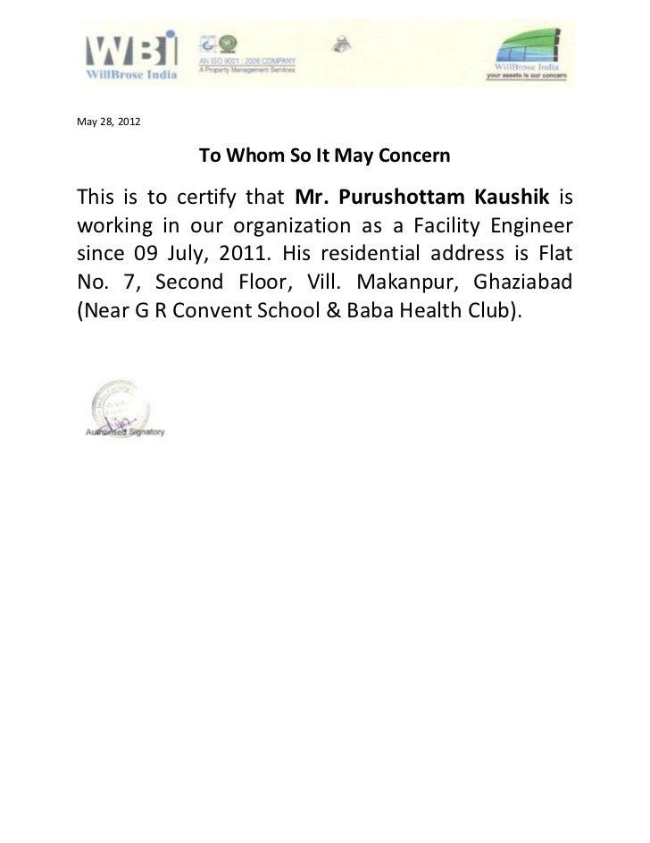 Hsbc Proof Of Address Letter