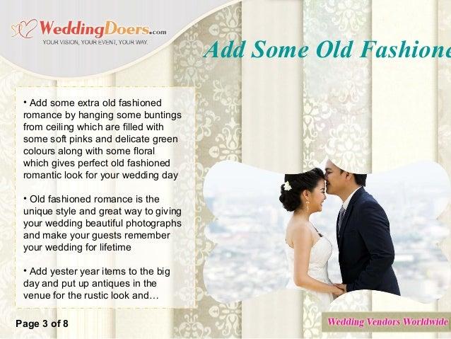 Old fashioned romance dress up