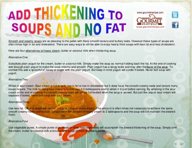 www.gourmetrecipe.com Smooth and creamy soups are so pleasing to the pallet with there smooth texture and buttery taste. H...