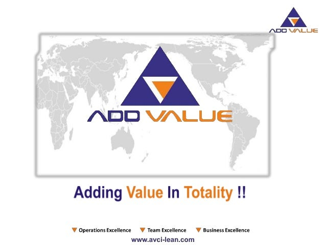 """""""Our commitment to our clients will be exemplary"""" """"ADDVALUE integrates consulting and counseling for total value addition ..."""