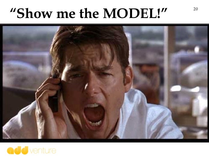 """"""" Show me the MODEL!"""""""