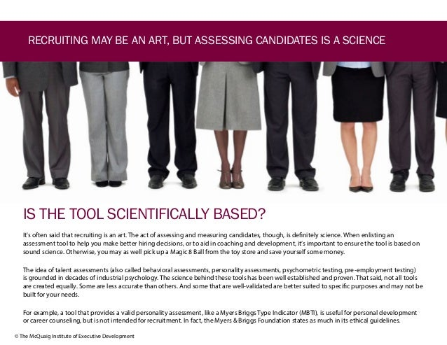 How to Choose a Talent Assessment Tool