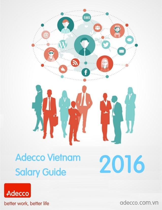 Adecco Vietnam Salary Guide 2016 adecco.com.vn