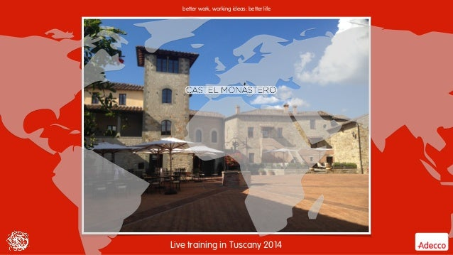 Adecco   Sales Council Tuscany 2014 Slide 2