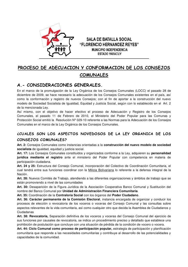 """SALA DE BATALLA SOCIAL """"FLORENCIO HERNANDEZ REYES""""MUNICIPIO INDEPENDENCIA ESTADO YARACUY Independencia<br />PROCESO DE ADE..."""