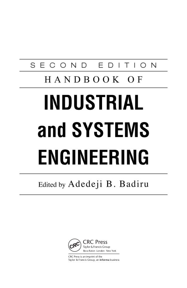 industrial engineering handbook pdf