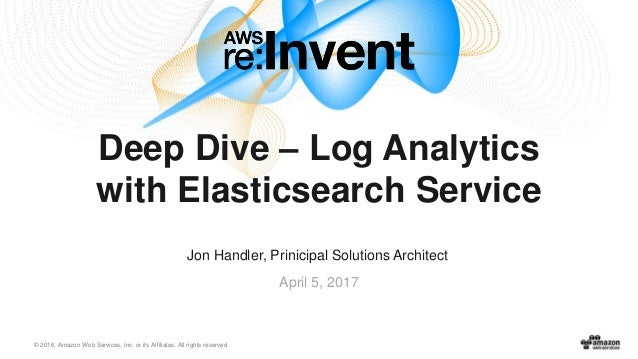 Log Analytics with Amazon Elasticsearch Service & Kibana
