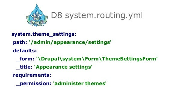 A deep dive into Drupal 8 routing