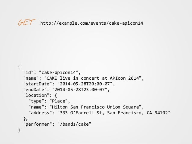 """http://example.com/events/california/ { """"@id"""": """"/events/california/"""", """"@type"""": """"Collection"""", """"member"""": [ ... ], ... } { """"@..."""