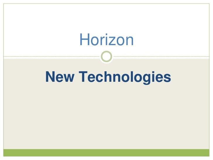 HorizonNew Technologies