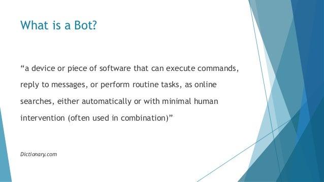 Introduction to Microsoft Bot Framework