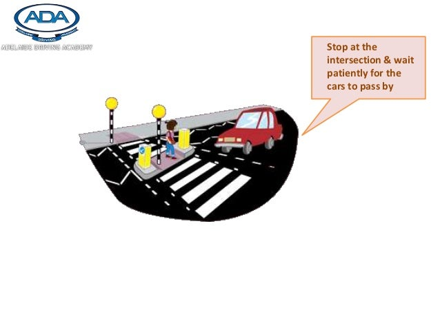 how to keep pedestrians safe during crossing