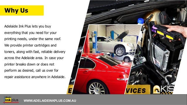 Adelaide Ink Plus lets you buy everything that you need for your printing needs, under the same roof. We provide printer c...