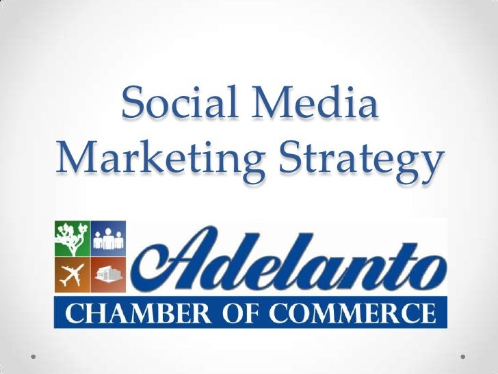 Social MediaMarketing Strategy