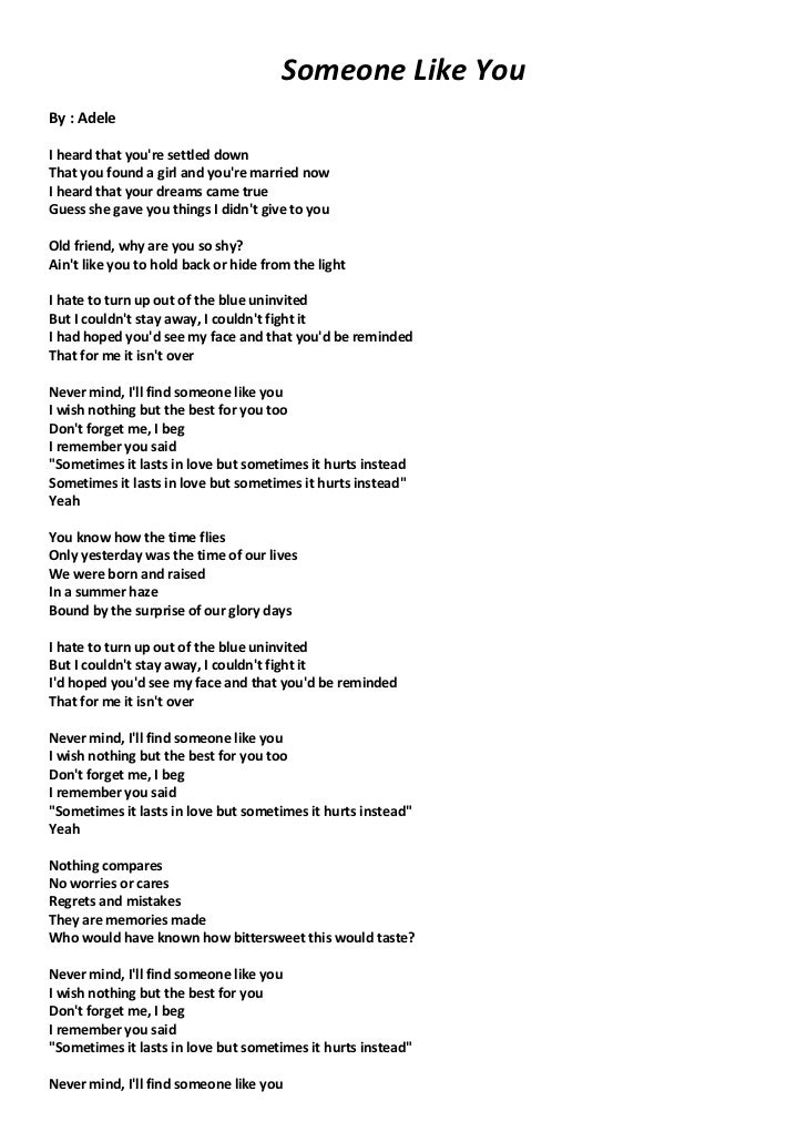 Adele Someone Lyrics Chords Wish Welovepictures Picturesboss