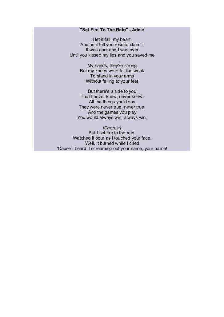 Soundtrack lyrics for our soap trailer