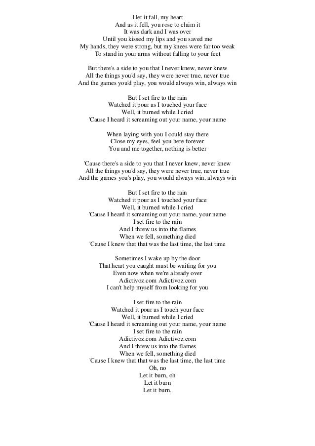 Lyric adele someone like you lyrics : Adele worksheet someone like you