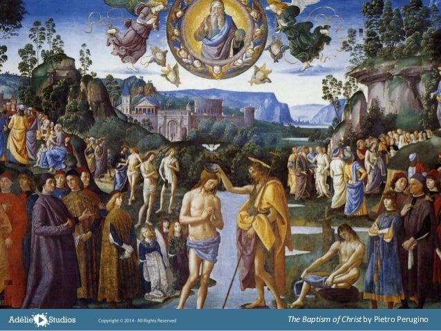 The Baptism of Christby Pietro Perugino