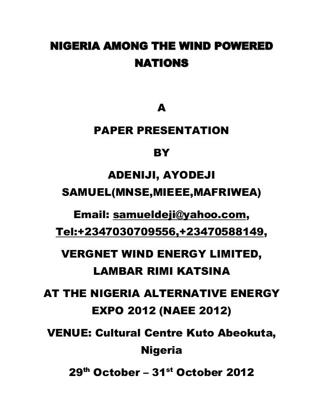 nigeria among the wind powered nations Benson idahosa and bishop david oyedepo  he prophesied without mincing words that nigeria will be named among  being among the power .
