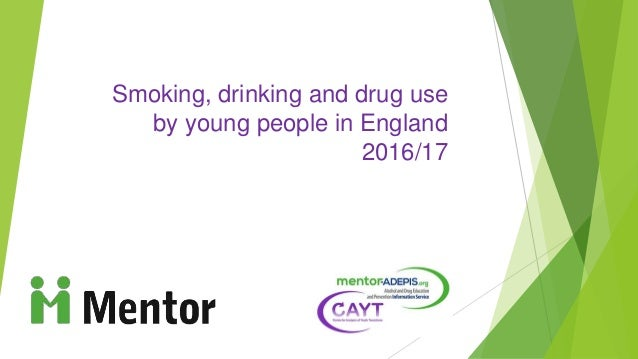 Smoking, drinking and drug use by young people in England 2016/17