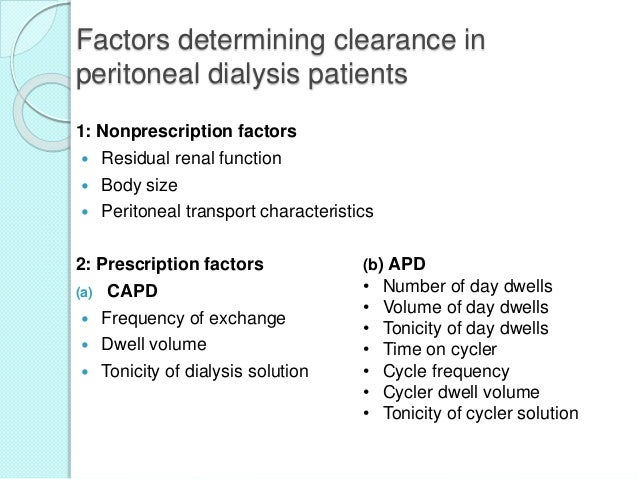 The Role of the Hemodialysis Nurse With Renal Failure Patients