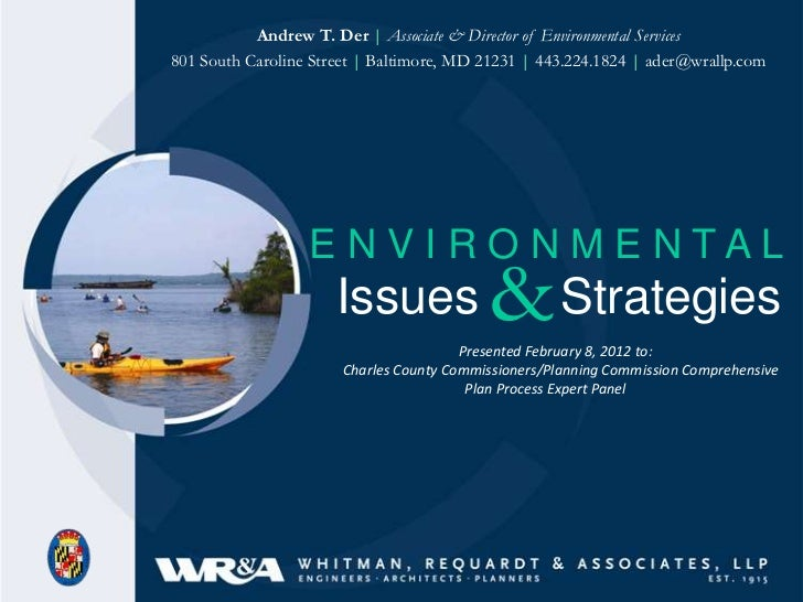 Andrew T. Der | Associate & Director of Environmental Services801 South Caroline Street | Baltimore, MD 21231 | 443.224.18...