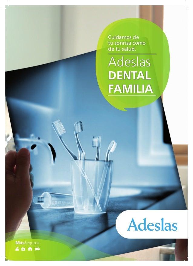 Adeslas Dental Familia 2014