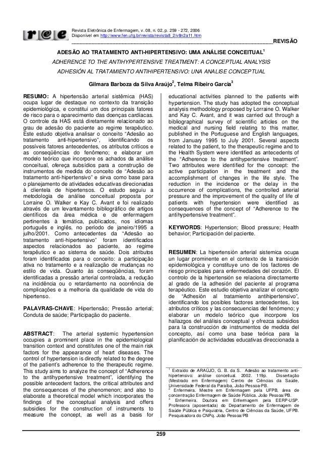 Revista Eletrônica de Enfermagem, v. 08, n. 02, p. 259 - 272, 2006Disponível em http://www.fen.ufg.br/revista/revista8_2/v...