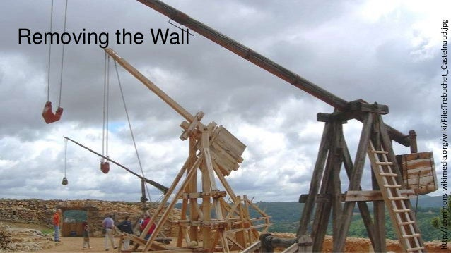 http://commons.wikimedia.org/wiki/File:Trebuchet_Castelnaud.jpg  Removing the Wall