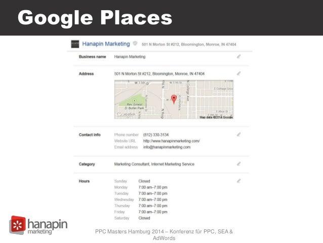 Google Places PPC Masters Hamburg 2014 – Konferenz für PPC, SEA & AdWords