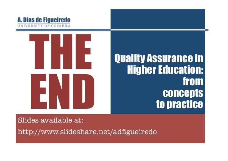 quality assurance in higher education Abstract the aim of this paper is to present a general view and a brief literature review of the main aspects related to quality assurance in global higher education.