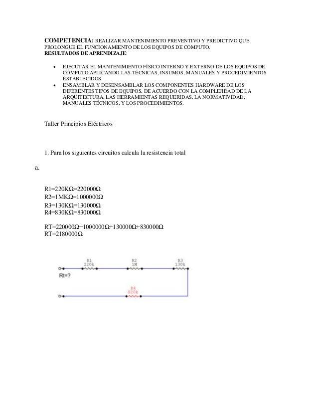 COMPETENCIA: REALIZAR MANTENIMIENTO PREVENTIVO Y PREDICTIVO QUE PROLONGUE EL FUNCIONAMIENTO DE LOS EQUIPOS DE COMPUTO. RES...