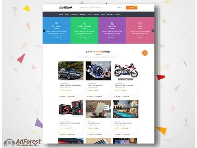 Classified Ads Wordpress Theme - AdForest
