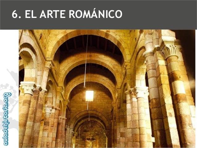 6. EL ARTE ROMÁNICO