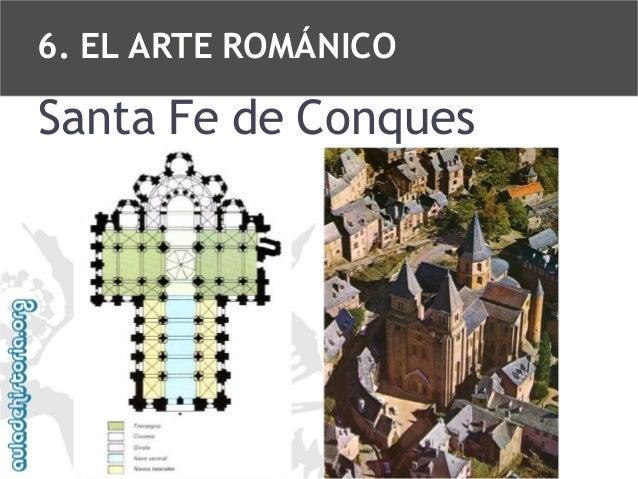 6. EL ARTE ROMÁNICO  Santa Fe de Conques