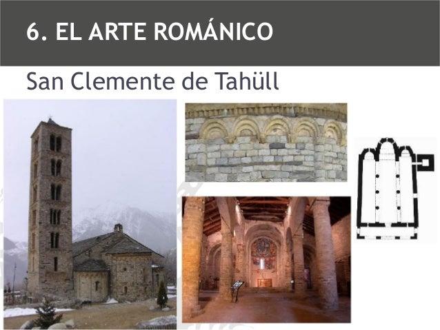 6. EL ARTE ROMÁNICO San Clemente de Tahüll