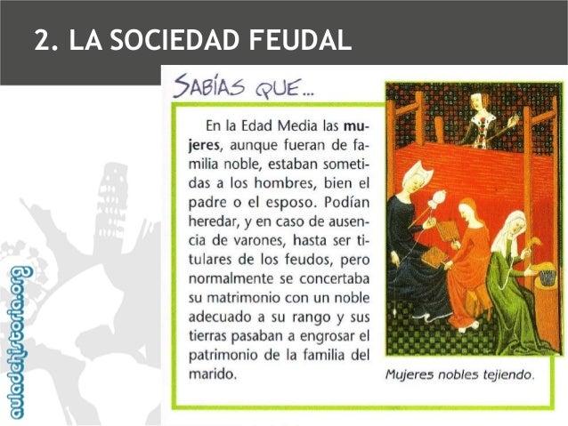 2. LA SOCIEDAD FEUDAL