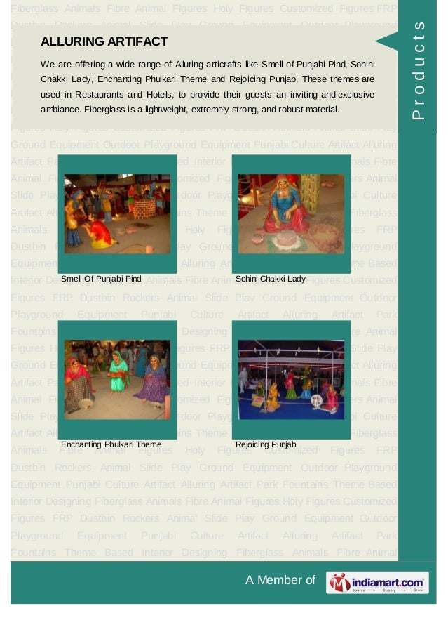 Adharshila Potteries, Chandigarh, Fiberglass Animals