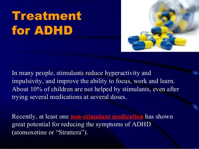 a discussion on the misuse of ritalin for the treatment of attention deficit hyperactivity disorder Attention-deficit/hyperactivity disorder substance misuse k knowledge and attitudes about attention-deficit/hyperactivity disorder (adhd) and its treatment.