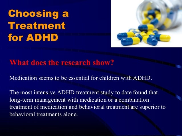 Attention Deficit Hyperactivity Disorder Adhd