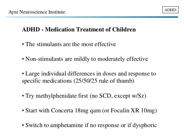 most effective adhd treatment adults