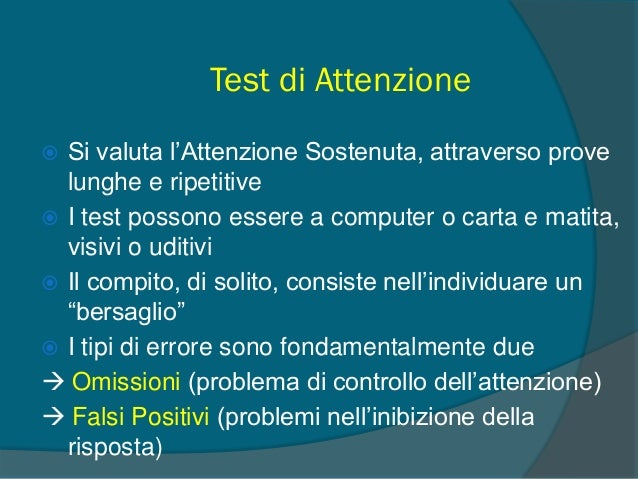 Test MF (Cornoldi et al., 1998)