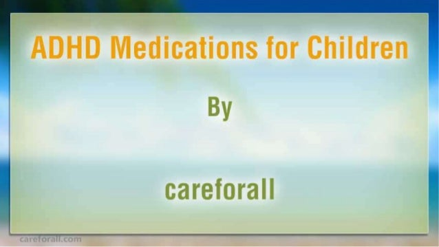 Adhd medications-for-children