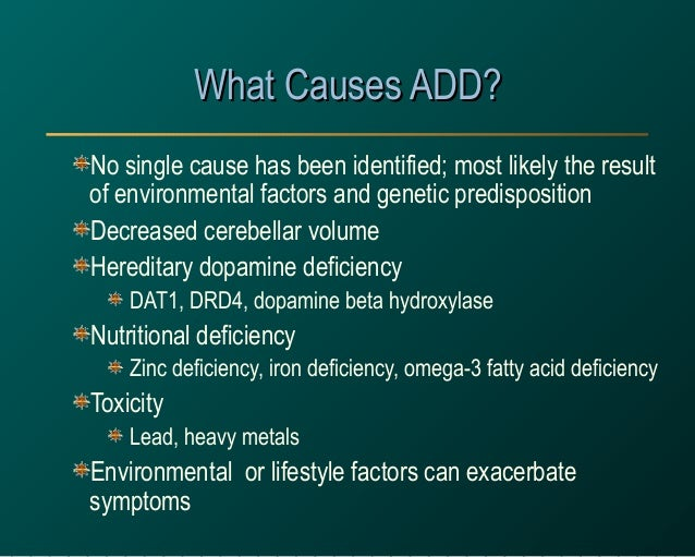 the pathophysiology of adhd The exact causes of adult attention deficit hyperactivity disorder (adhd) are unknown what we do know is that are a lot of possible reasons a person develops attention deficit disorder, and.