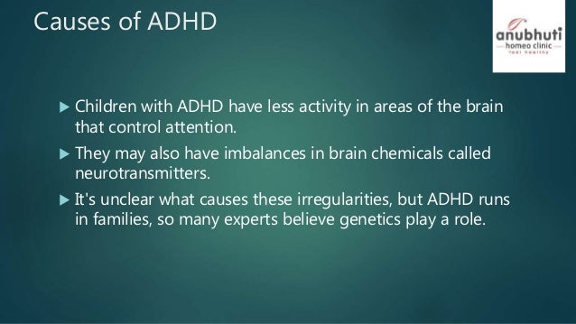 a description of attention deficit hyperactivity disorder adhd The exact cause of attention deficit hyperactivity disorder (adhd) isn't fully understood, although a combination of factors is thought to be responsible.