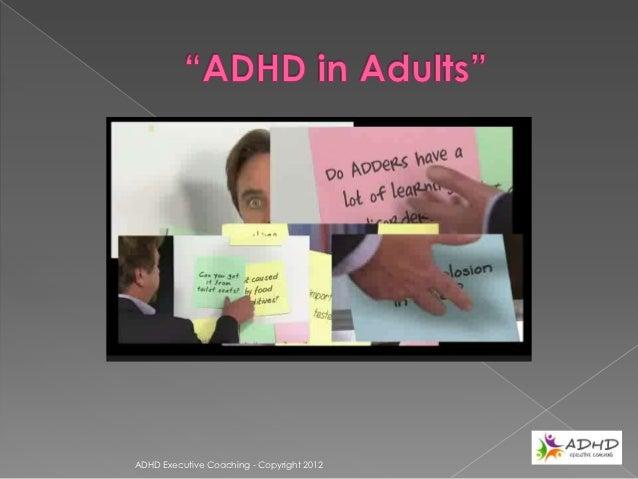 Craig VenterADHD Executive Coaching - Copyright 2012