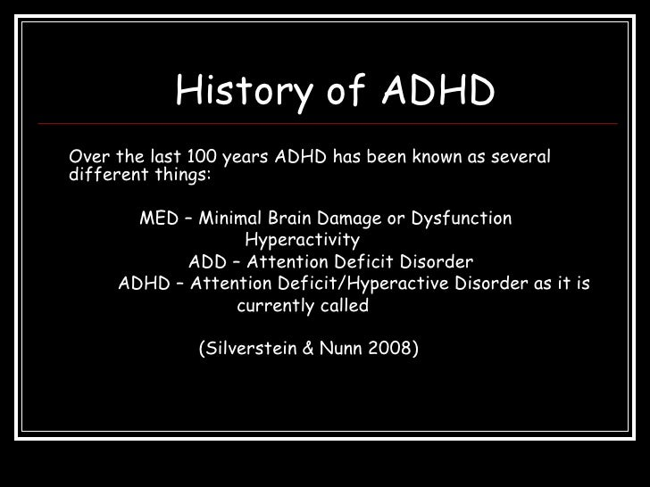 case study attention deficit hyperactivity disorder
