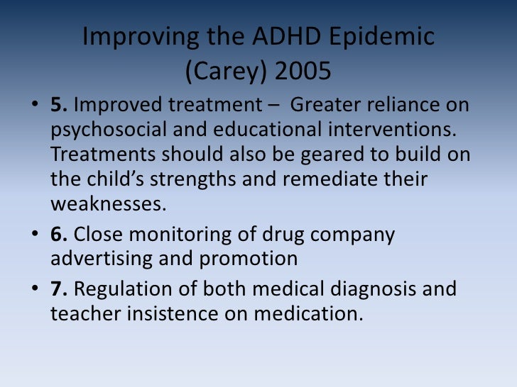 should adhd be medicated The crux of the issue is not so much the use of adhd medication as misuse: our results are silent on the effects on optimal use of medication for adhd, but suggest that expanding medication use.