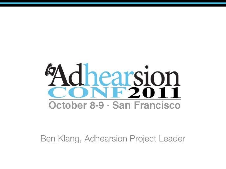 Ben Klang, Adhearsion Project Leader